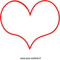 Dessin De Coeur Dessins En Forme De Coeurs Coloriages Carte Fete Images Papier A Lettre Modeles Fete Des Meres Peres St Valentin
