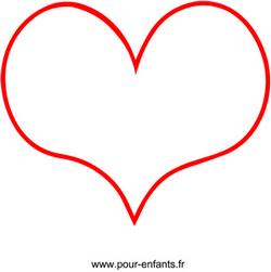 En forme de coeur dessin en forme de coeur petit format - Dessin de petit coeur ...